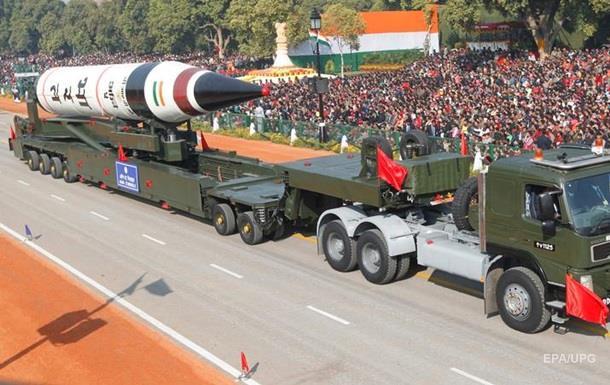 Індія успішно випробувала міжконтинентальну ракету