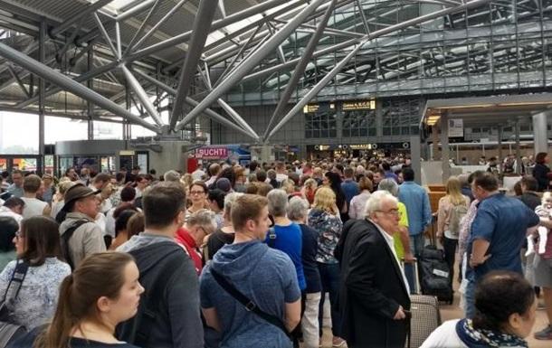 У Гамбурзі закрили аеропорт через відсутність електрики