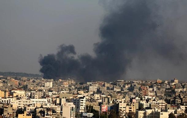 Армія Ізраїлю заявляє про бомбардування 15 об єктів ХАМАСу в Секторі Гази