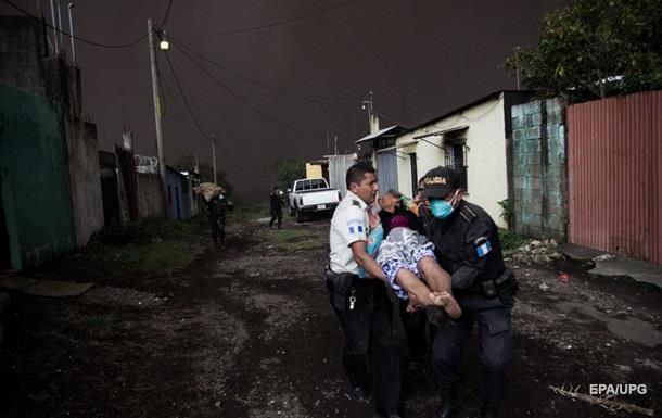 Виверження вулкана в Гватемалі: кількість жертв перевищила 60 осіб