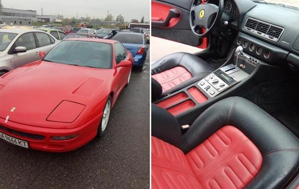 В Киеве из-за алиментов у бизнесмена отобрали эксклюзивный Ferrari