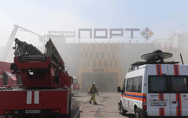 В России горит крупный торговый центр