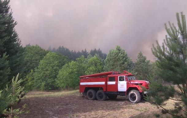 Авіація скинула на палаючий ліс у Чорнобильській зоні 100 тонн води