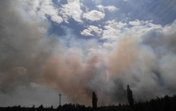 У ДСНС розповіли, у чому складність пожежі в Чорнобилі