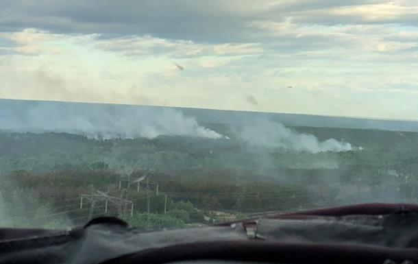 Версия о поджоге в Чернобыльской зоне не подтвердилась – ГСЧС
