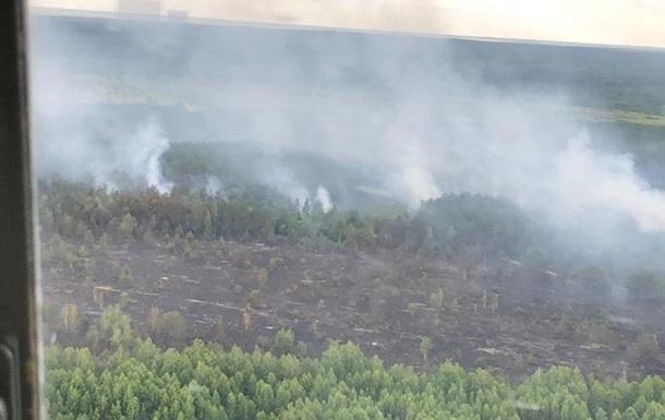 Пожежу в Чорнобилі локалізували
