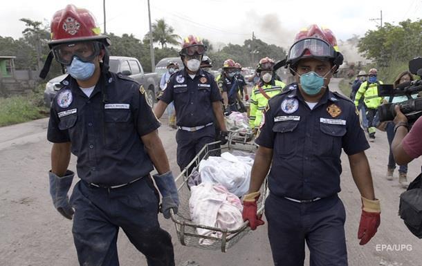 Число жертв извержения вулкана в Гватемале достигло 84