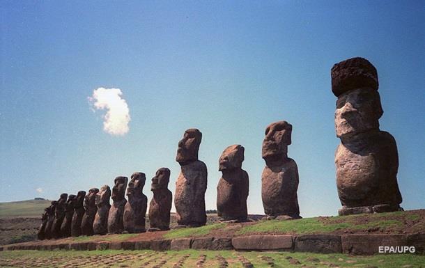 Вчені з ясували, як з явилися кам яні капелюхи у бовванів острова Пасхи