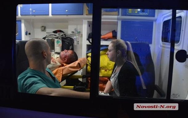 Появилось видео с расстрелянным в Николаеве