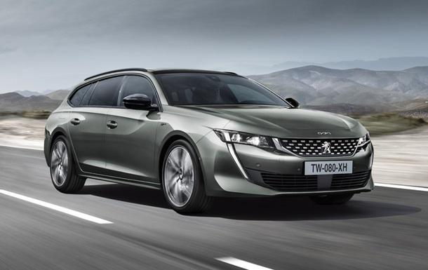 Универсал Peugeot 508 представили официально