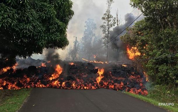 На Гаваях лава вулкана знищила 600 будинків