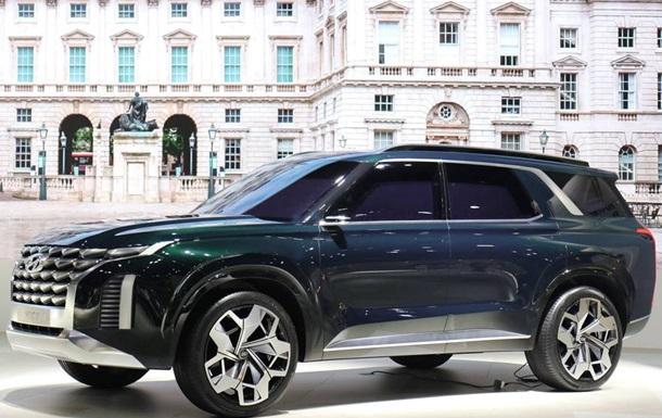 Hyundai показала прототип флагманського кросовера
