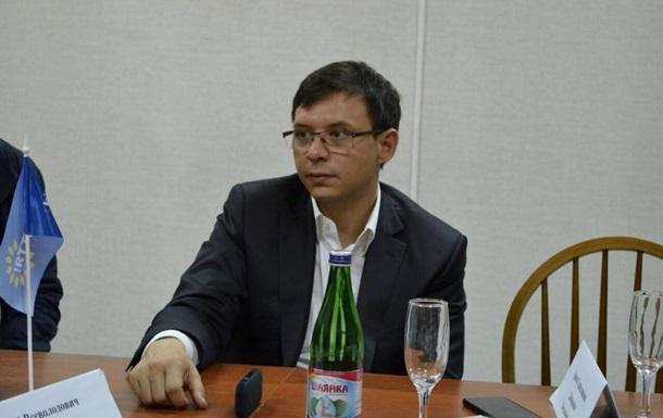 Мураєв відповів Пашинському на держзраду
