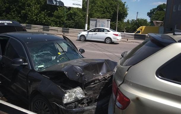 У Маріуполі сталася ДТП з п ятьма авто