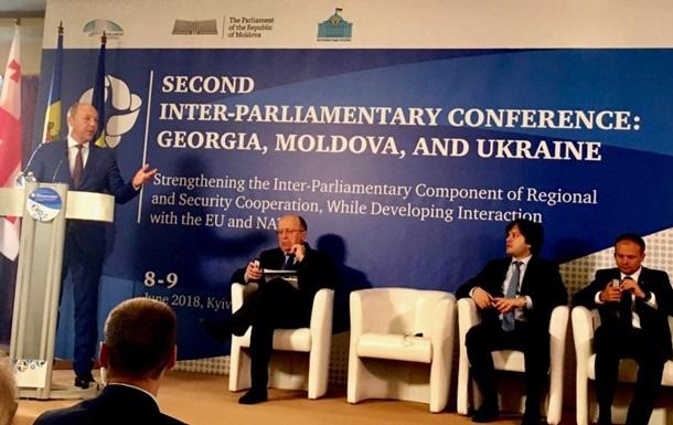 Україна, Молдова і Грузія створюють Міжпарламентську асамблею