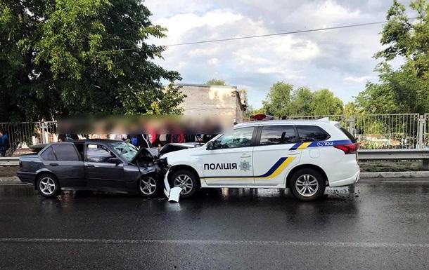 В Харьковской области в ДТП с участием полиции погиб мужчина