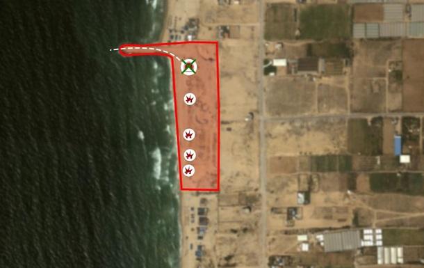 Армия Израиля уничтожила морской тоннель ХАМАС в секторе Газа