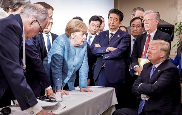 Отправили в ад. Саммит G7 завершился расколом