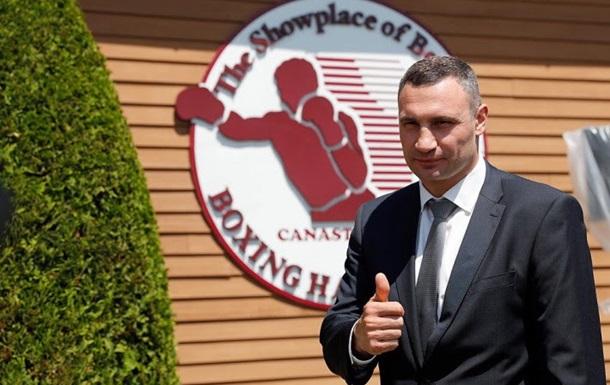 У Залу боксерської слави включений перший українець
