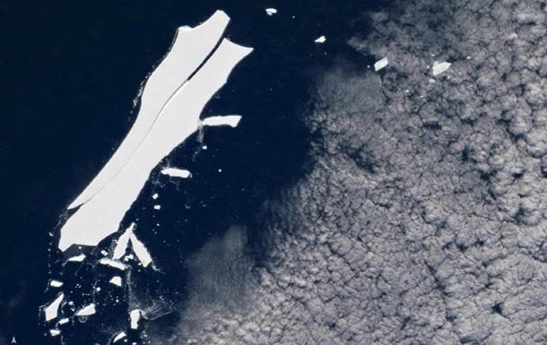 Найбільший айсберг на Землі повністю розтане