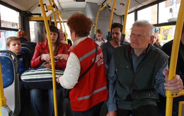 Ловлей  зайцев  в общественном транспорте Киева займется полиция
