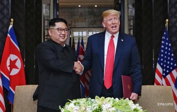 Став відомий текст договору Трампа і Кім Чен Ина
