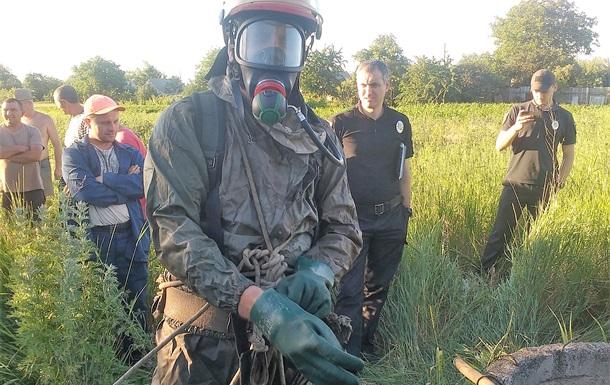 В Донецкой области на дне колодца нашли человеческие останки