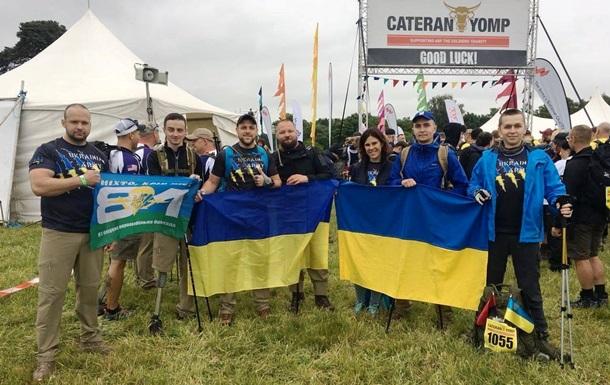 Українські десантники привезли з Британії золото