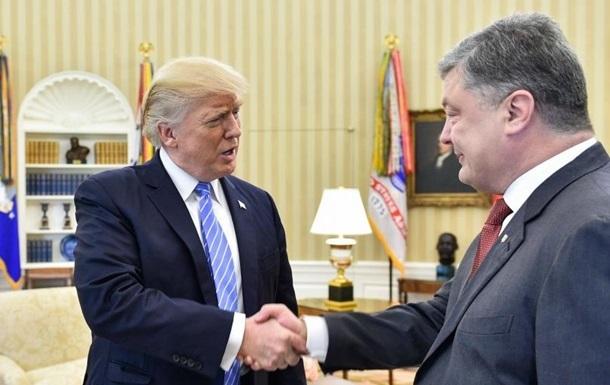 Порошенко похвалил Трампа за саммит с Ким Чен Ыном