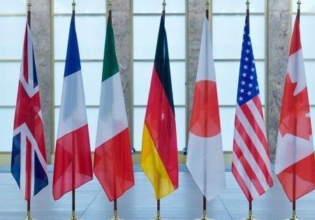 Страны G7 единогласно поддержали введения новых санкций против РФ