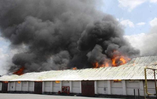 Пожар на элеваторе в Жмеринке ликвидирован