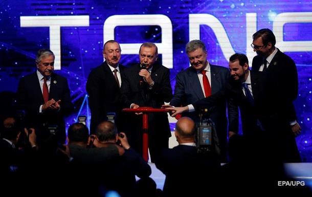В Турции запустили газопровод TANAP