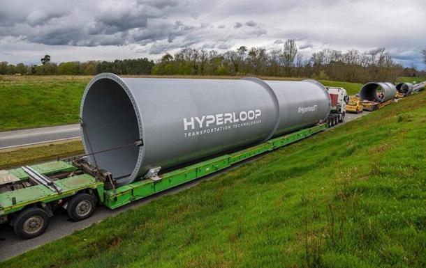 Україна підписала угоду з Hyperloop