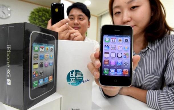 В Южной Корее начали вновь продавать iPhone 3GS