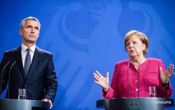 Меркель: Расходы на оборону пока не достигнут уровня, требуемого НАТО