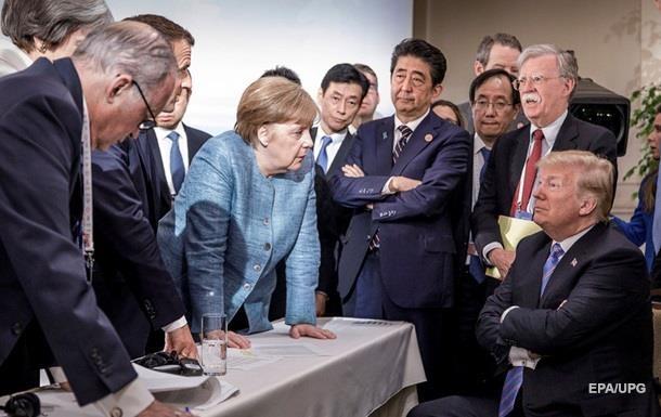 Трамп прокомментировал ставшее мемом фото с саммита G7