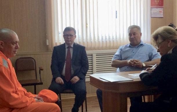 Российский омбудсмен начала посещать украинских заключенных