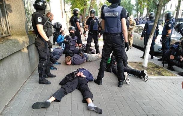 У Києві націоналісти побилися з поліцією