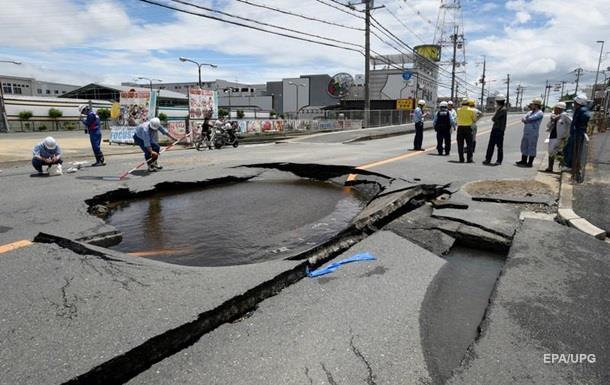 Землетрясение в Японии: число пострадавших идет на сотни