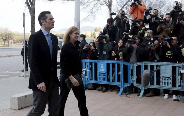 Зять іспанського короля прибув до в язниці для відбування терміну