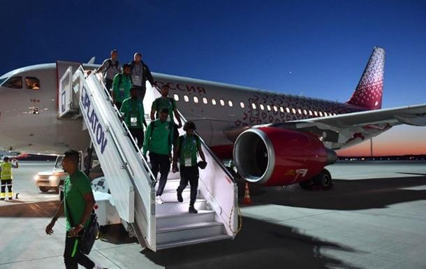 Самолет Саудовской Аравии загорелся по пути на ЧМ-2018
