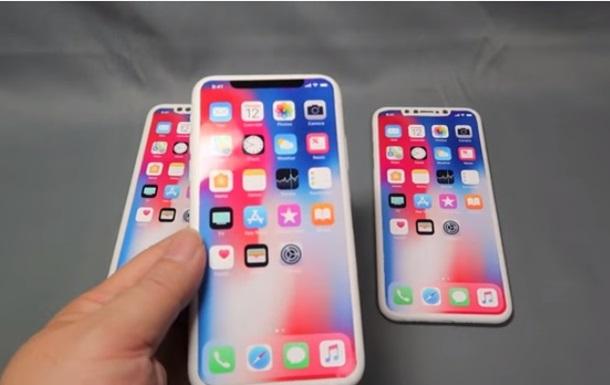 Три iPhone 2018 года показали на видео