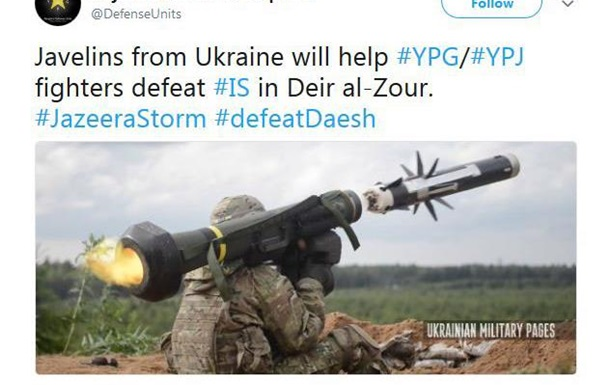 Україна перепродує американські  Джавеліни  на Близький Схід