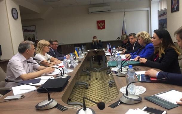 Денісова заявила про зрив домовленості одночасно відвідувати ув язнених