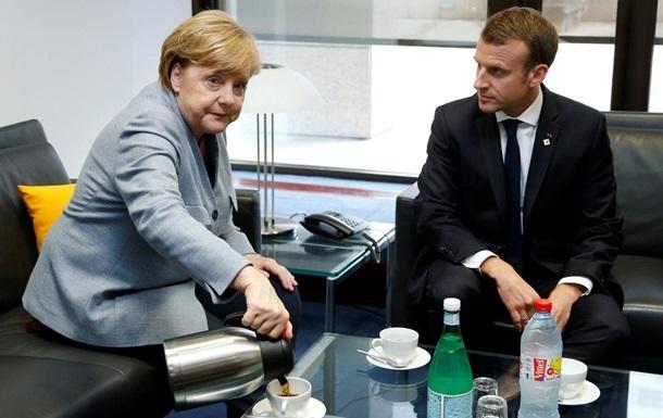 Меркель і Макрон домовилися про бюджет єврозони