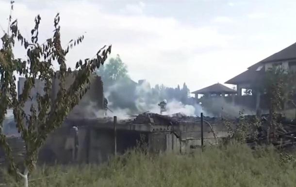 Под Киевом молния попала в жилой дом