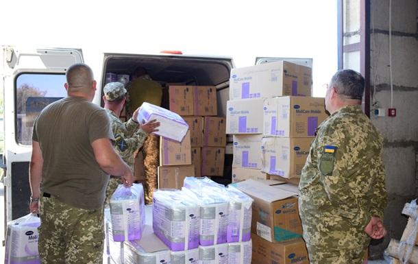 У Луганську область прибула гумдопомога з Франції