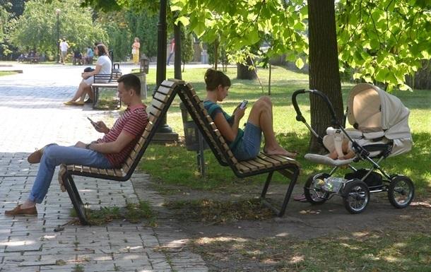Погода в Украине: жара, дожди