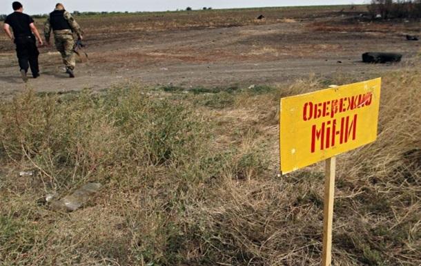 В Луганской области на растяжке подорвался мирный житель
