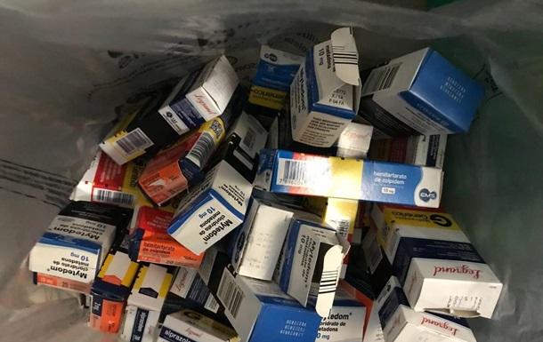 В Борисполе бразилец пытался провести полторы тысячи таблеток метадона